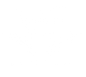 Evergreen Lavender Logo reversed