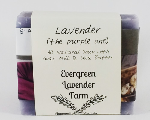 Purple Lavender Soap