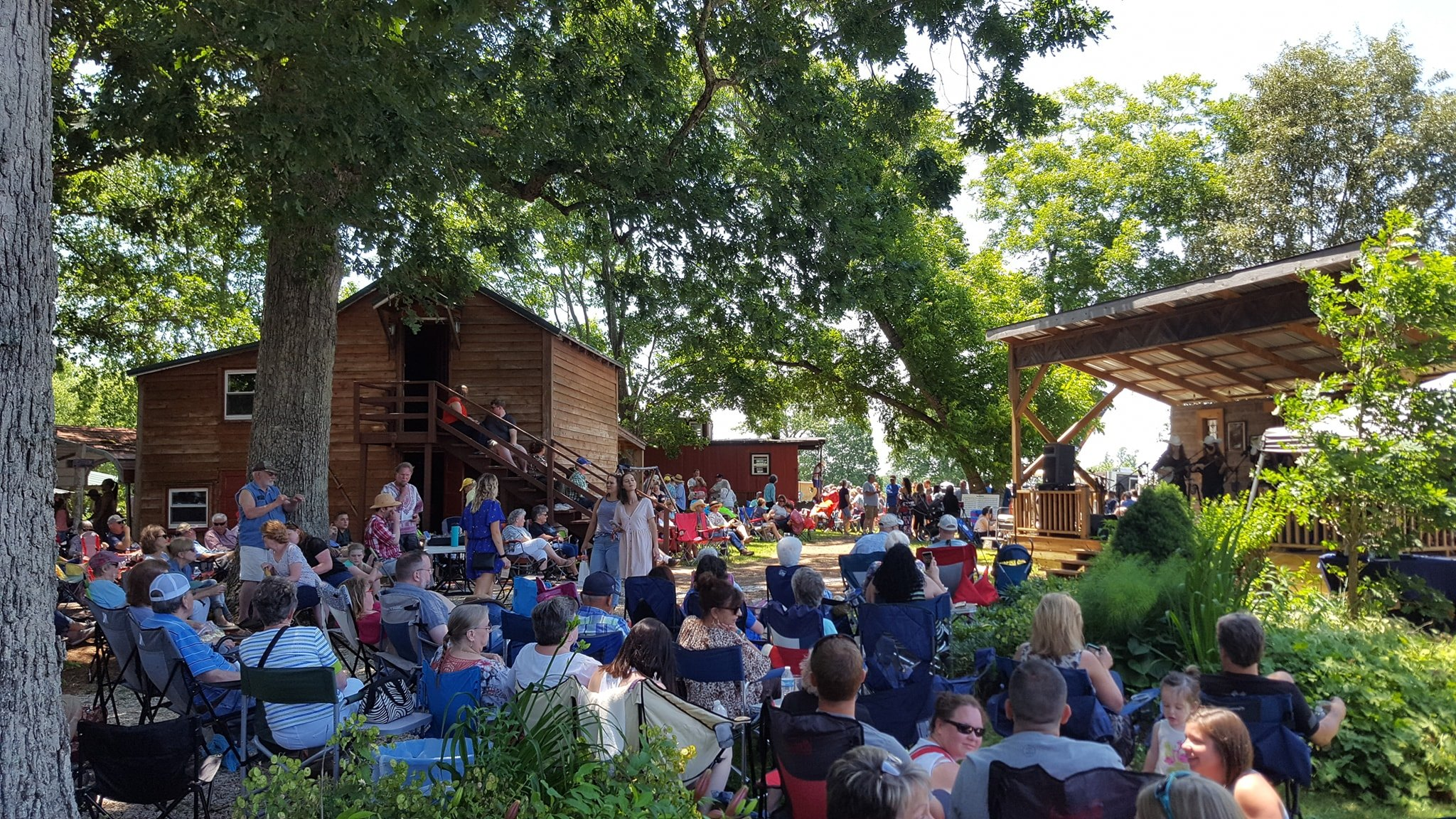 Under the Oaks Music Stage