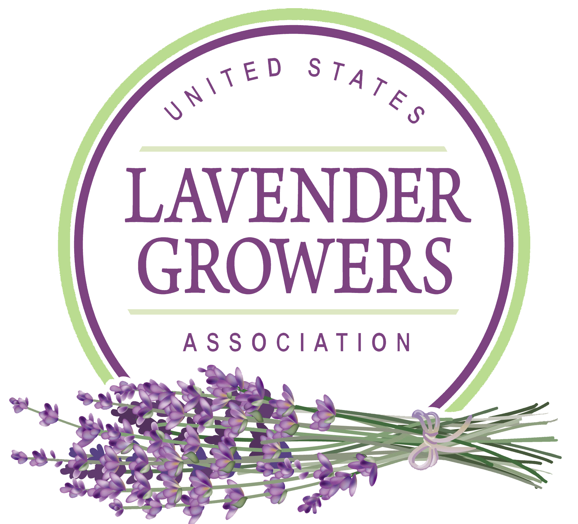 United States Lavender Growers Association logo