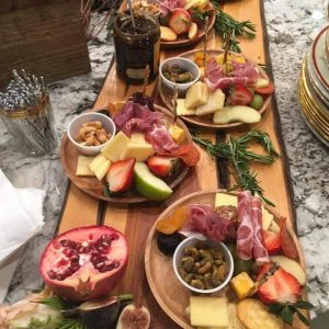 Charcuterie Tray for A Lavender Christmas