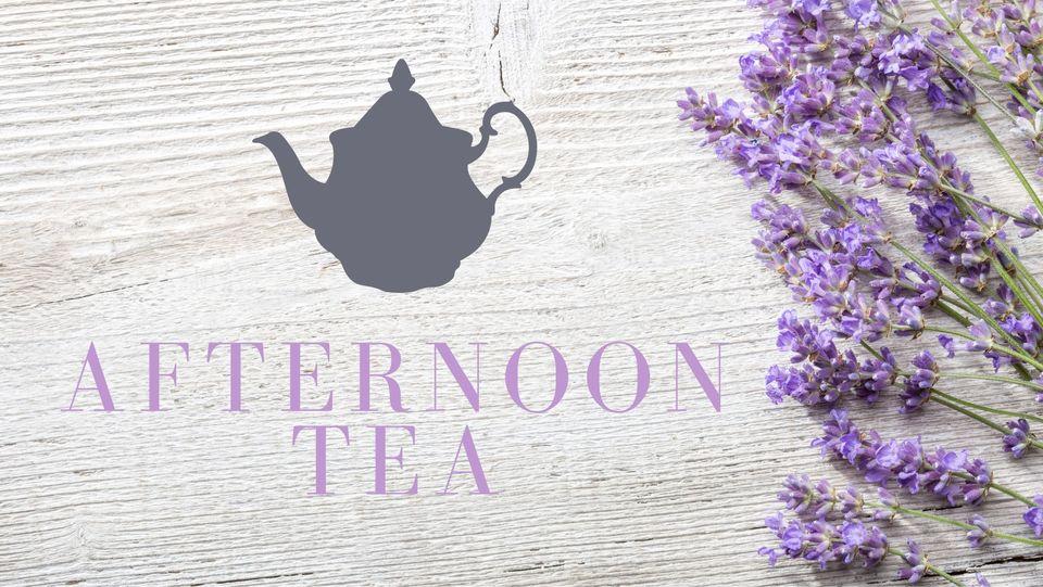 afternoon tea lavender image